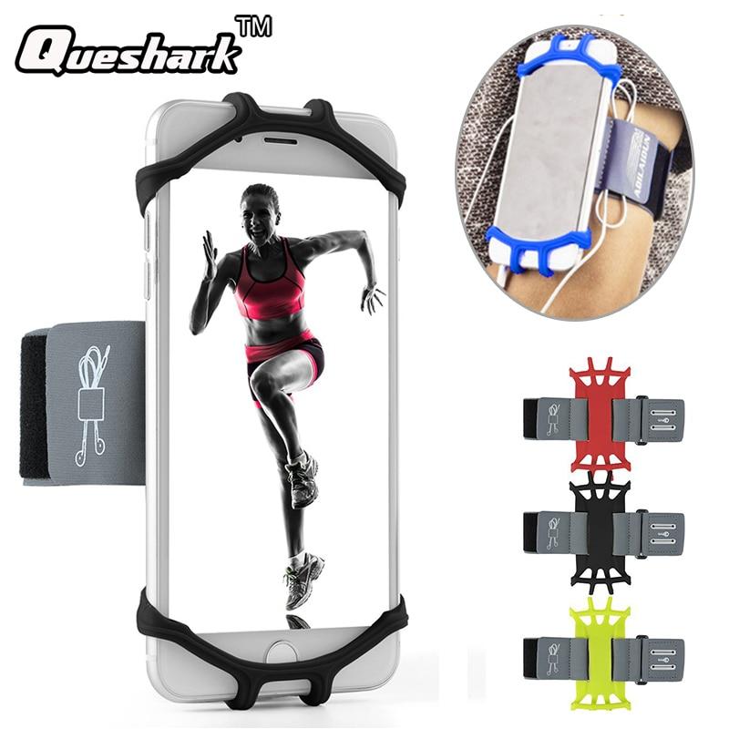 [해외]러닝 백 스포츠 운동 완장 운동 용 헬스 클럽 용 실리콘 밴드 전화 홀더 조깅 피트니스 핸드폰 Sportband Bag + Key Holder/Running Bag Sport Armband Silicone Band Phone Holder for Exercise