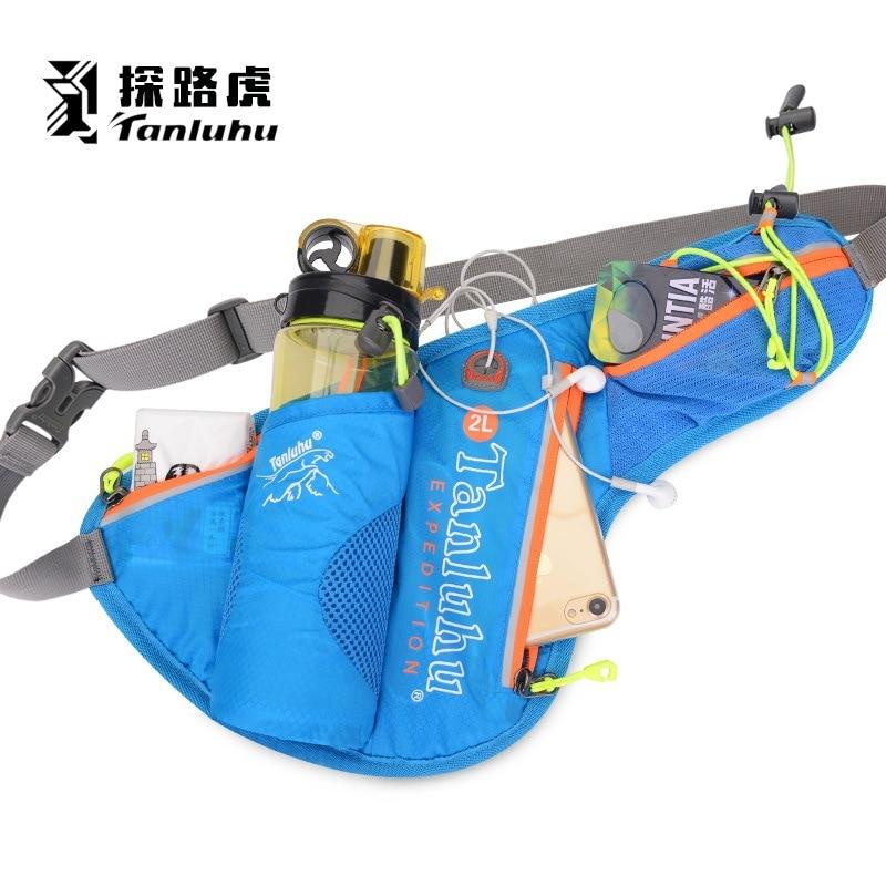 [해외]Tanluhu 스포츠 트레일 러닝 벨트 허리 가방 스포츠 하이킹 실행 물 병 전화 가방 팩 액세서리 2l 방수/Tanluhu Sport Trail Running Belt Waist Bag Sports Hiking Run Water Bottle Phone Bags