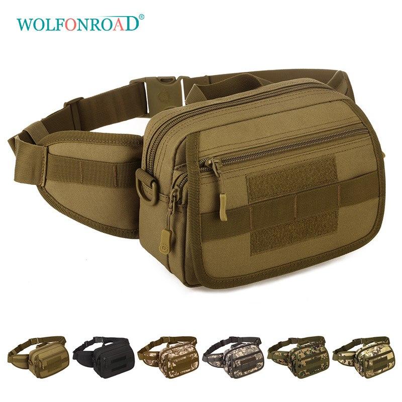 [해외]WOLFONROAD 남자 허리 가방 밀리터리 전술 육군 벨트 가방 메신저 핸드백 야외 실행 Treking 백 팩 몰리 백 L-SHZ-93/WOLFONROAD Men Waist Bag Military Tactical Army Belt Bags Messenger H