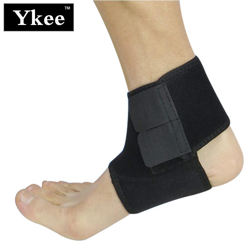 [해외]1 개의 쌍 조정 가능한 발목 지원 패드 농구 Runnning 스포츠 붕대 탄력있는 가새 가드 지원 발 감쌈 보호/1 Pair Adjustable Ankle Support Pad Basketball Runnning Sports Bandage Elastic Bra
