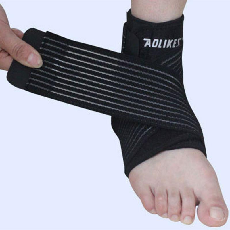 [해외]LYP 1Pc Aolikes 발목 지원 조정 가능한 스포츠 탄성 발목 지원 발목 패드 발 보호 축구 농구 휘트니스/LYP 1Pc Aolikes Ankle Support Adjustable Sports Elastic Ankle Support Brace Pad Fo