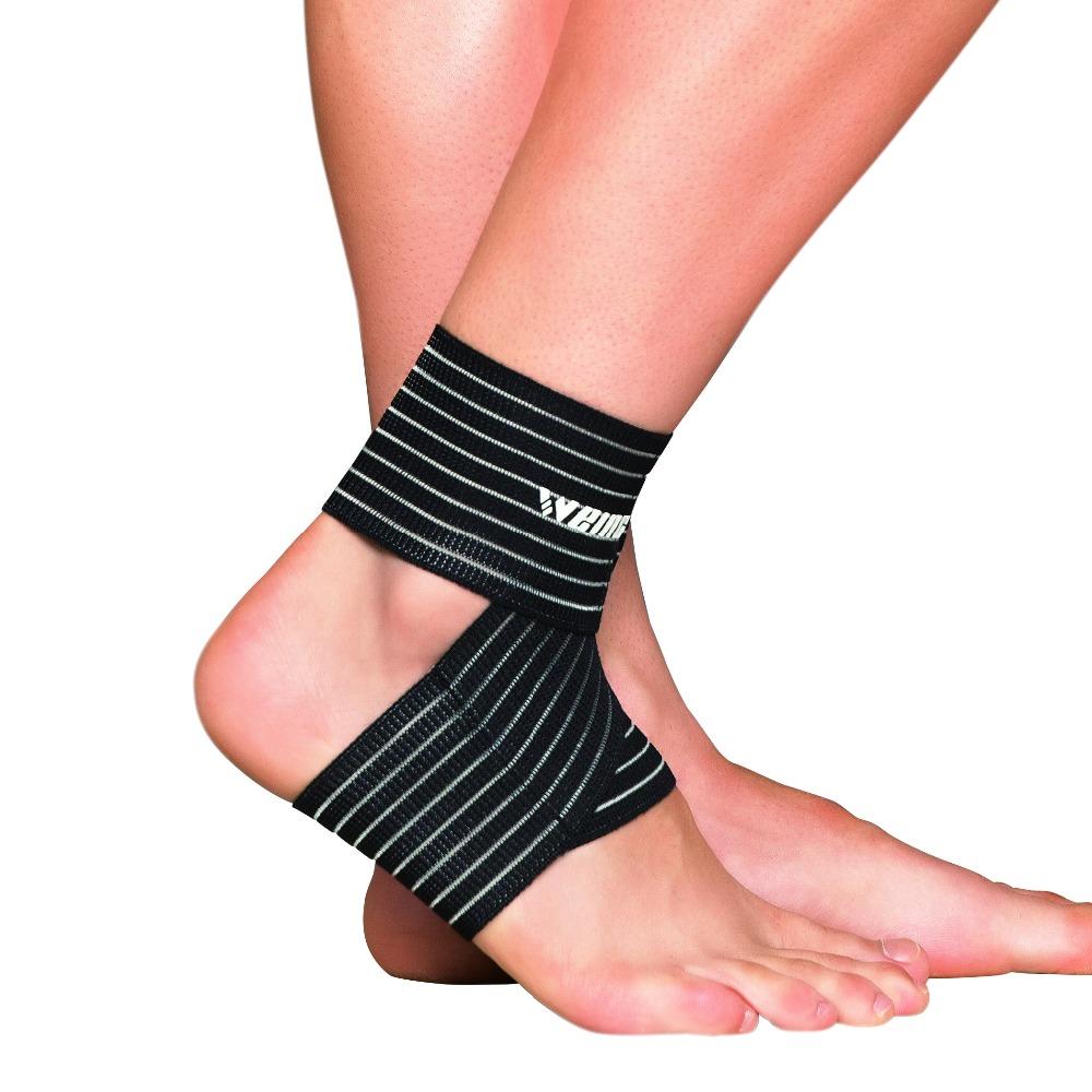 [해외]Weing 1pcs 발목 지원 조정 가능한 스포츠 탄성 발목 지원 발 프로텍터 축구 농구 스포츠 안전 지원/Weing 1pcs Ankle Support Adjustable Sports Elastic Ankle Support Foot Protector Footba