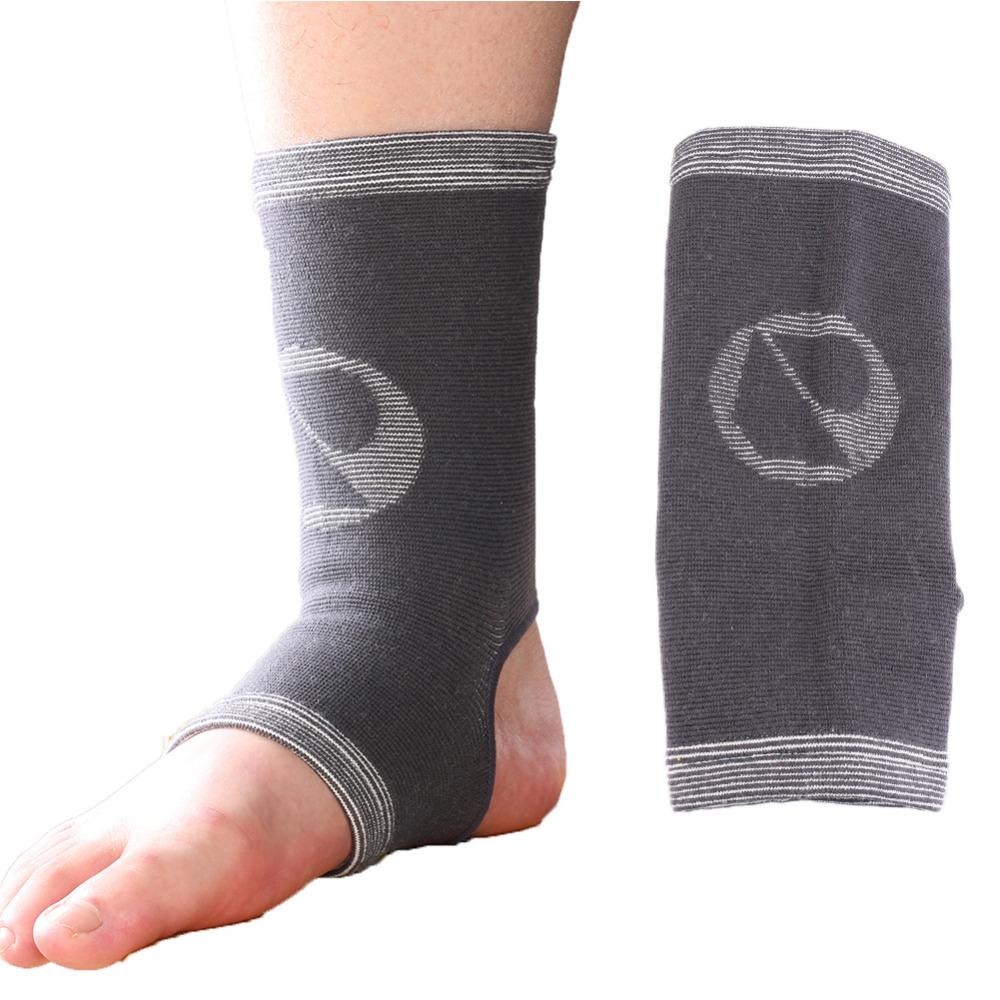 [해외]3 크기 통풍 스포츠 발 슬리브 보호대 가드 대나무 숯 발목 중괄호 탄성 압축 랩 기복 통증/3 Sizes Breathable Sports Foot Sleeve Protector Guard Bamboo Charcoal Ankle Brace Elastic Comp