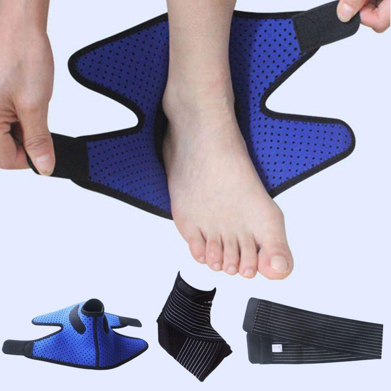 [해외]축구 등산 스포츠 발목 지원 중괄호 발목 패드 건성 및 통기성 교차 및 압축 지원 받침대/Football Climbing Sports Ankle Support Brace Ankle Pad Dry and breathable Cross And Compression