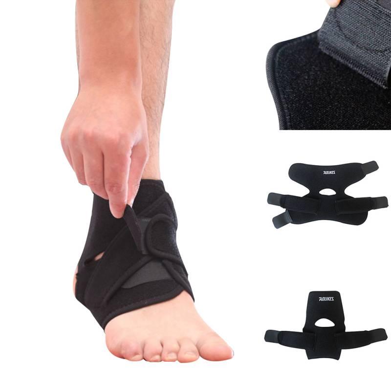 [해외]Aolikes 1pc 발목 지원 조정 가능한 탄성 스포츠 통기성 발목 중괄호 포장 패드 프로텍터 lastic 중괄호 가드 지원/Aolikes 1pc Ankle Support Adjustable Elastic Sports Breathable Ankle Brace