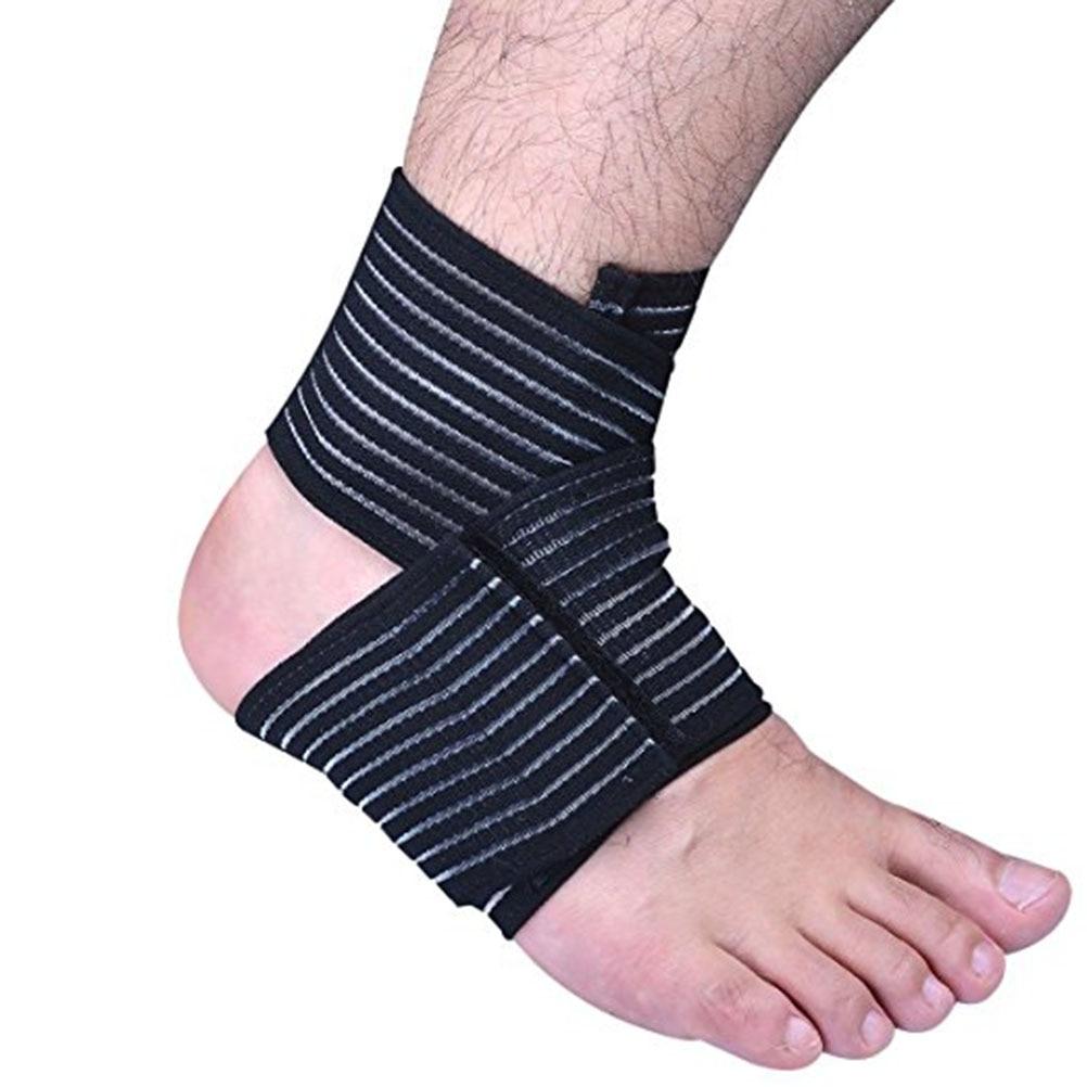 [해외]발목 붕대를 실행하는 2pcs 운동 스포츠를통기성 탄성 발목 손목 팔꿈치 지원 랩 브레이스/2pcs Running Ankle Bandage Breathable Elastic Ankle Wrist Elbow Support Wrap Brace for Exercise