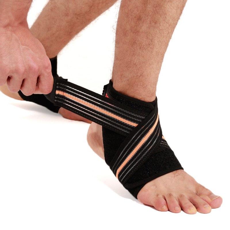 [해외]붕대 압축 스포츠 프로텍터 농구 축구 발목 통기성 지원 가새 가드 ASD88/Bandage Compression Sports Protector Basketball Soccer Ankle Breathable Support Brace Guard ASD88