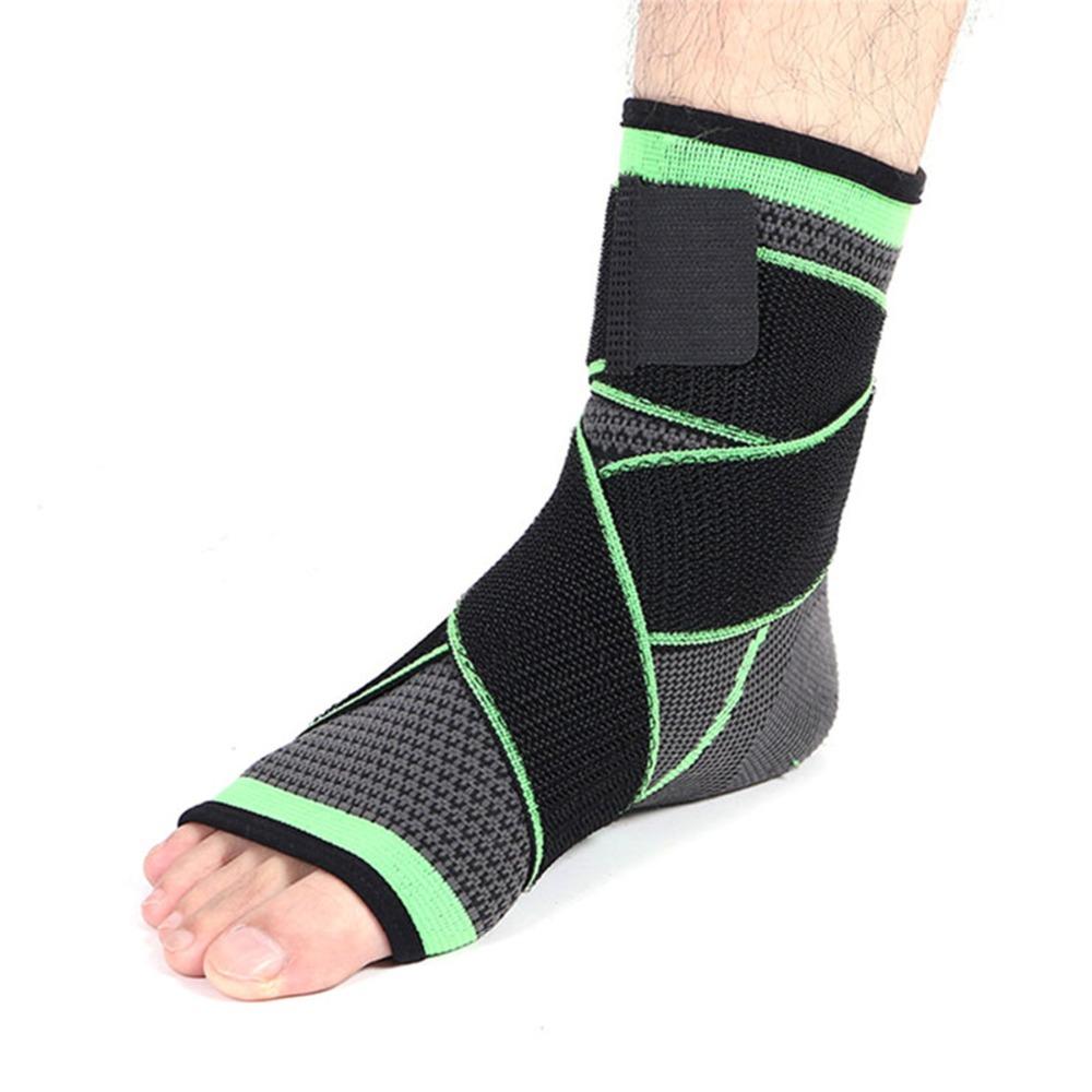 [해외]체조 발목 중괄호 발목  염 지원 발 보호 체육관 스포츠 신축성 붕대 스트랩 검정색 녹색 발목 스포츠 프로텍터/Gymnastics Ankle Brace Ankle Arthrosis Support Foot Protection Gym Sport Elastic Ban