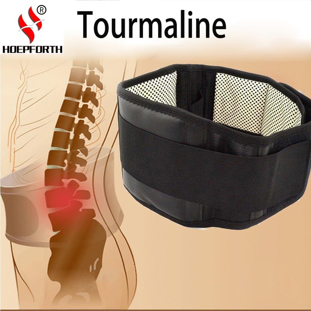 [해외]조정 허리 전기석 자기 가열 자기 치료 허리 받침대 지원 벨트 열 마사지 밴드 건강 관리/Adjustable Waist Tourmaline Self heating Magnetic Therapy Lumbar Back Brace Support Belts Therma