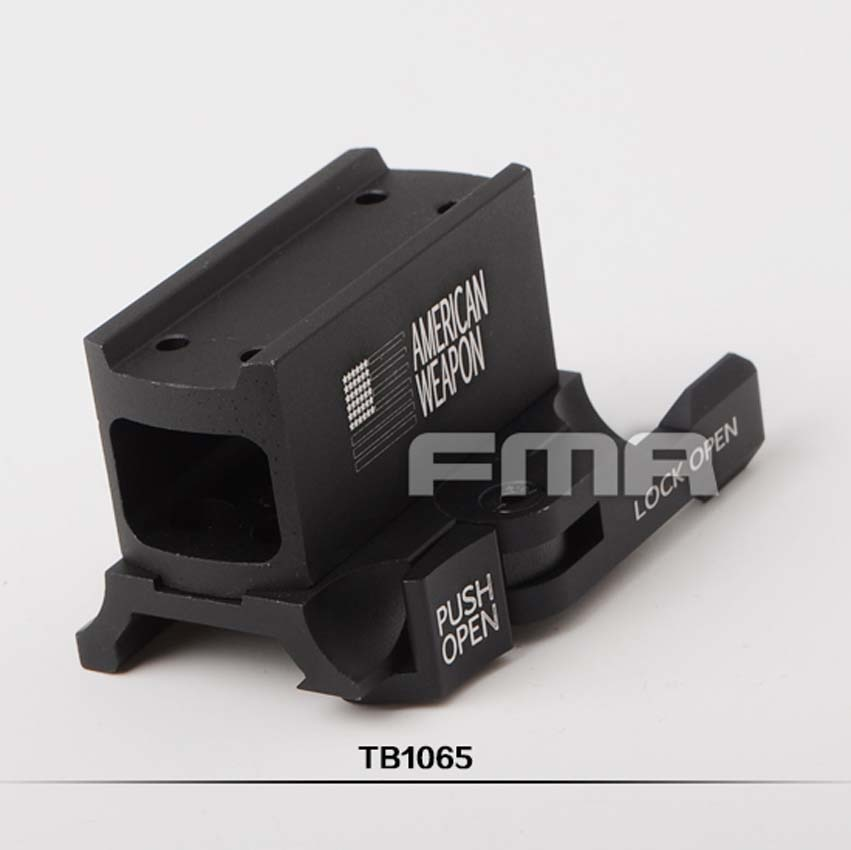[해외]FMA Aimpoint T1 H1 Airsoft Paintball Hunting 용 적외선 도트 탑재 TB1065/FMA Aimpoint T1 H1 Red Dot Sight Mount TB1065 For Airsoft Paintball Hunting