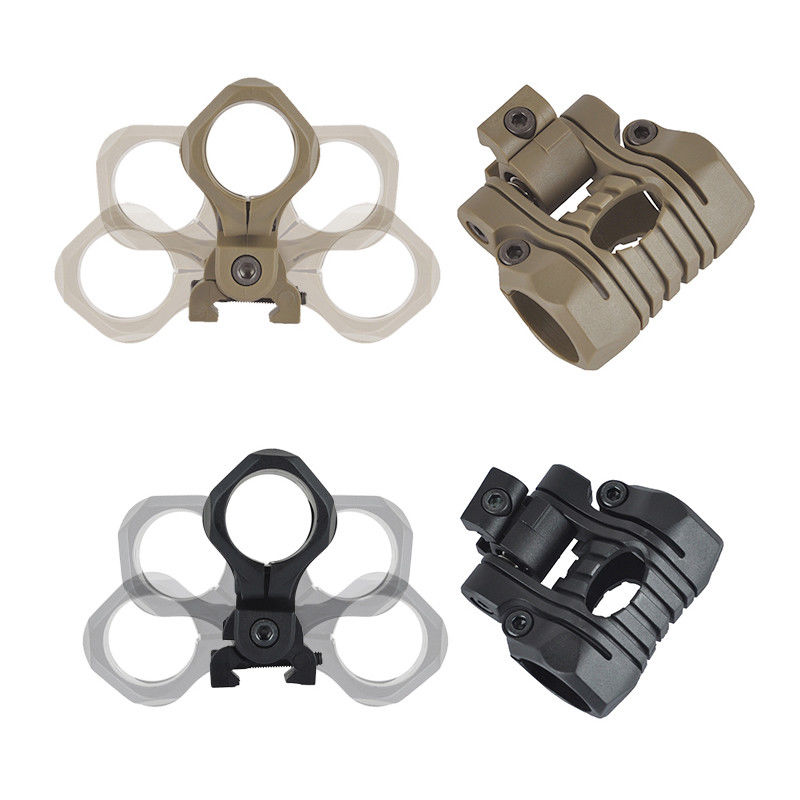 [해외]사냥 Airsoft 플래쉬 Picatinny 20mm 가로장을25mm 5 위치 경 마운트/25mm 5 Position Light Mount For Hunting Airsoft Flashlight Picatinny 20mm Rail
