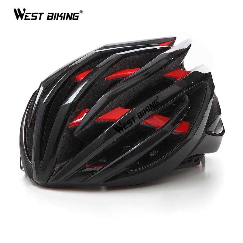 [해외]서쪽 자전거 사이클링 헬멧 52-62CM 강한 EPS 두 배 층 머리 보호 야외 안전 Casco 남자 여자 MTB 도로 자전거 헬멧/WEST BIKING Cycling Helmet 52-62CM Strong EPS Double Layer Head-protecti
