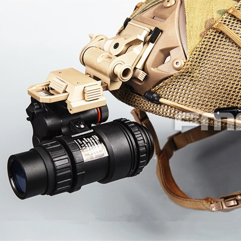 [해외]2018 NEW PVS18 1 : 1 리얼 메탈 버전 더미 (새로운 스타일) 헬멧 야간 투시경 고글 NVG 더미 모델/2018 NEW PVS18 1 : 1 Real Metal Version Dummy (New Style) Helmet Night Vision Go