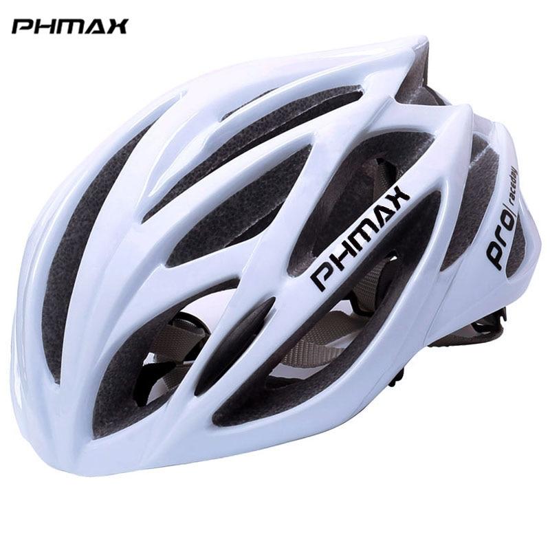[해외]PHMAX 자전거 헬멧 남성용 초경량 EPS + PC 커버 MTB 도로 자전거 헬멧 통합 몰드 사이클링 헬멧 자전거 안전 캡/PHMAX Bicycle Helmet For Men Ultralight EPS+PC Cover MTB Road Bike Helmet In