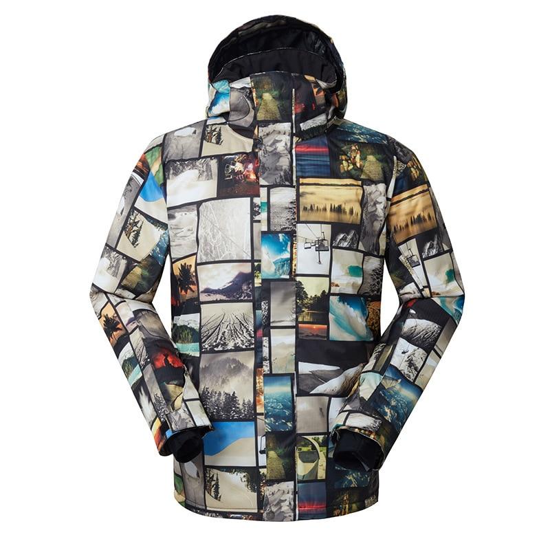 [해외]2018 Gsou 눈 남자의 야외 방풍 방수 스키 재킷 따뜻한 통기성 면화 스키 정장 남자에 대 한/2018 Gsou snow men`s Outdoor Windproof Waterproof skiing Jacket  Warm breathable cotton sk
