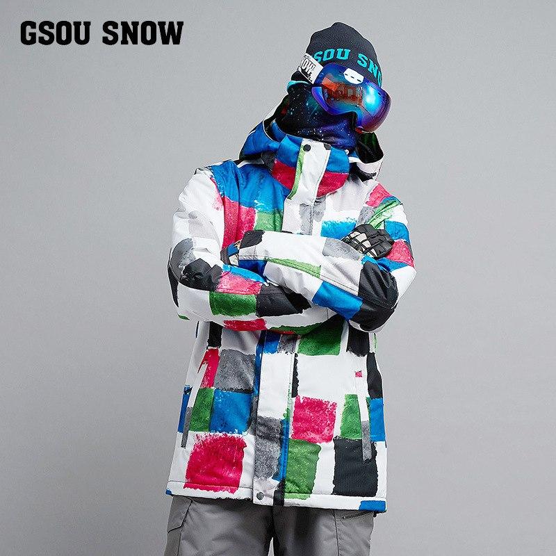 [해외]Gsou 스노우 스키 남성 겨울 싱글 보드 windproof 따뜻한 방수 및 방수 스키 의류/Gsou snow skiing male winter single board windproof warm waterproof and waterproofing skiing c