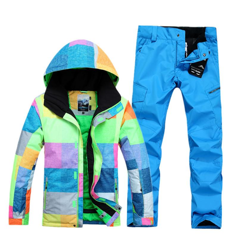[해외]2018 Gsou 눈 야외 단일 더블 보드 통풍 방풍 스키 정장 바람 보호를남성 정장/2018 Gsou snow Outdoor single double board Breathable Windproof Waterproof skiing suit male suit f