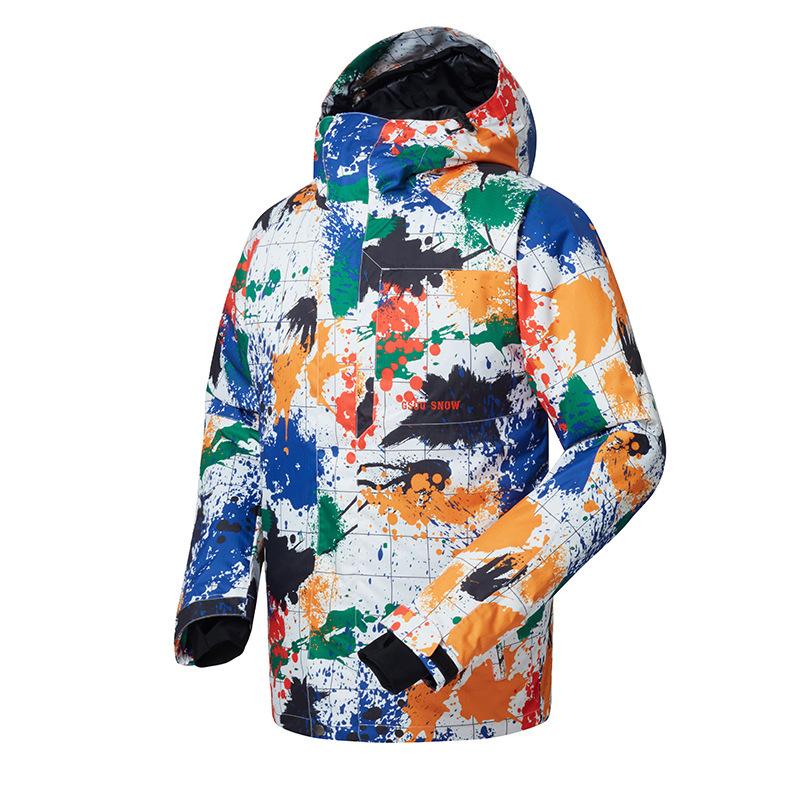 [해외]2018 GSOU SNOW 남성용 스키 의류 남성용 방한용 방풍 방풍 방풍 스키웨어/2018 GSOU SNOW Men`s ski clothes Outdoor warm breathable waterproof windproof skiing suit for men