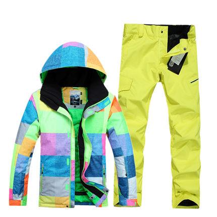 [해외]2018 Gsou 눈 남성 스키 복 야외 방풍 방수 스키 복 싱글 더블 보드 남성 통기성 내마 모성 양복/2018 Gsou snow men`s ski suit outdoor windproof waterproof skiing suit single double bo