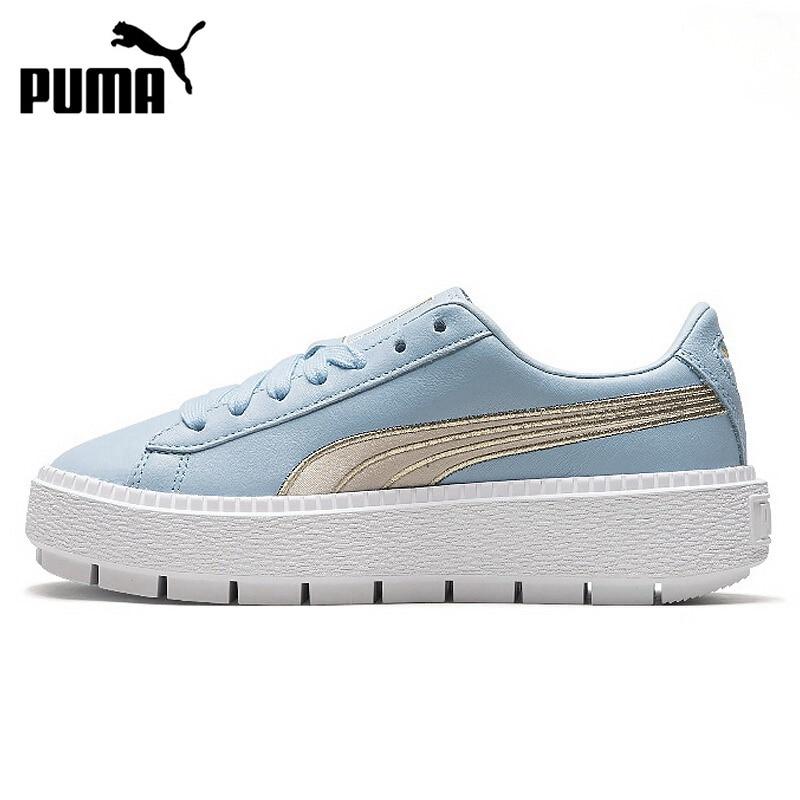 [해외]오리지널 신착 puma platform trace varsity 여성용 스케이트 보드 신발 스니커즈/오리지널 신착 puma platform trace varsity 여성용 스케이트 보드 신발 스니커즈