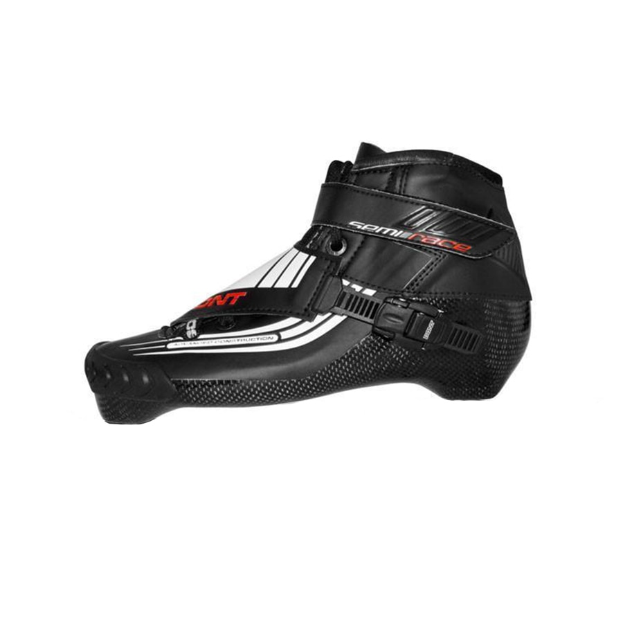 [해외]100% Original Bont Semi Race 2PT 195mm Speed Inline Skate Heatmoldable Carbon Fiber Boot Competition Racing Skating Boot Patines/100% Or
