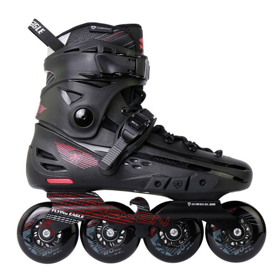 [해외]100% Original Flying Eagle F4-RAVEN Inline Skates Falcon Professional Adult Roller Skating Shoe Slalom Sliding Free Skating/100% Origina