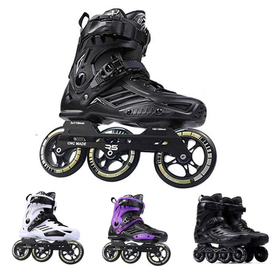 [해외]Japy Skates Roselle RS6 Inline Skates 72-76-80mm or 3*110mm Slalom Speed Inline Skates Roller Free Skating Shoes Sliding Patines/Japy Sk