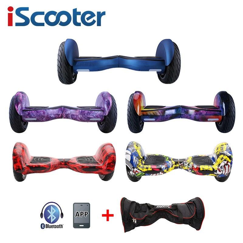 [해외]NEW 10inch Hoverboard 2 Wheel Electric Smart Balance Scooter Standing Boost Skateboard Roller UL2272 Transporter walk car segwey/NEW 10inch Hoverb