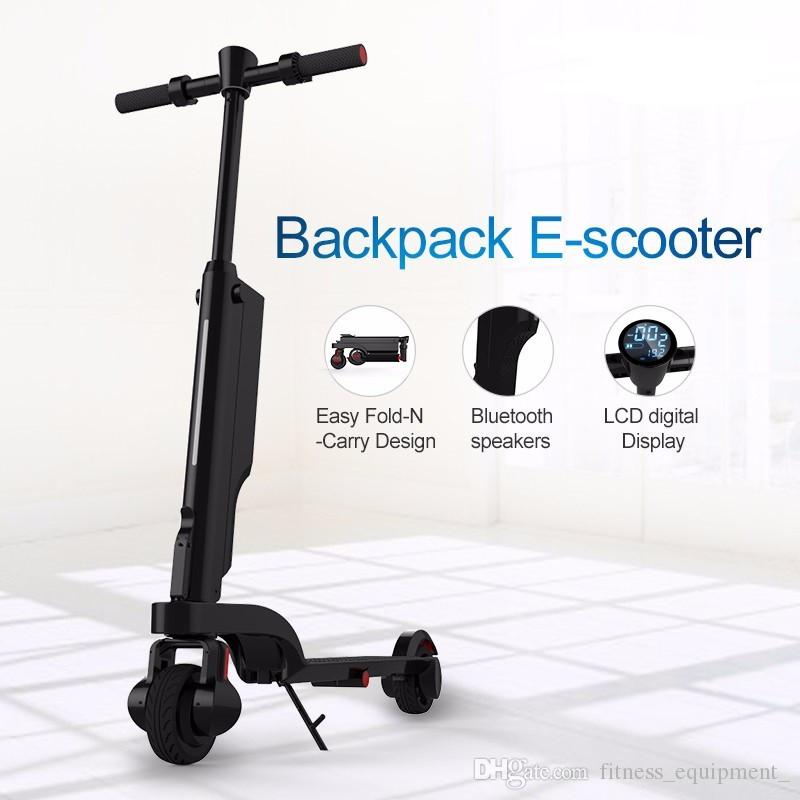 [해외]Original New Folding HX X6 Electric scooter Bicycle Foldable Kick Scooter 6A EscooterShock AbsorberBluetooth APP/Original New Folding HX X6 Electr
