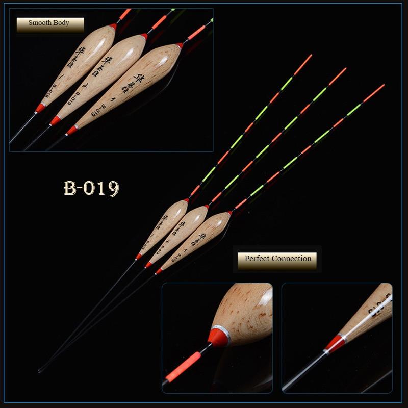 [해외]Good Deal 3pcs/lot Fishing Floats 1-3 Balsa Cylinder Shape Flotador Bobbers Crucian Preferred Fishing Accessories Tackle(B-019)/Good Deal 3pcs/lot