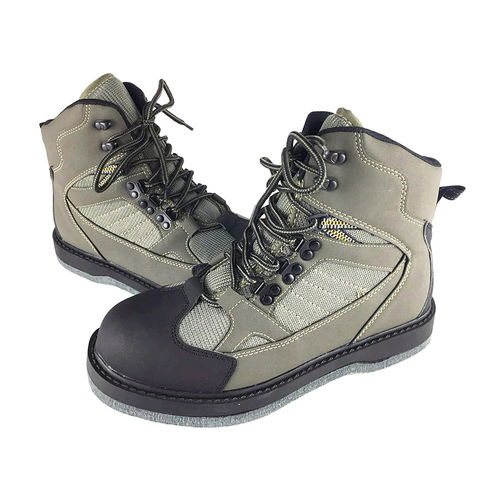[해외]Fly Fishing Shoes Felt Sole Waders Aqua Upstream Hunting Sneakers Wading Boot Breathable Rock Sport No-slip For Pants Unisex/Fly Fishing Shoes Fel