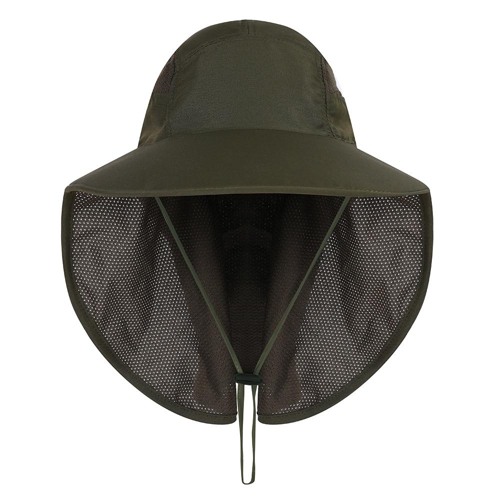 [해외]Uni낚시 모자 야외 자외선 차단 태양 모자 통기성 빠른 건조 낚시 태양 모자 모자 메쉬 목 플랩/Uni낚시 모자 야외 자외선 차단 태양 모자 통기성 빠른 건조 낚시 태양 모자 모자 메쉬 목 플랩