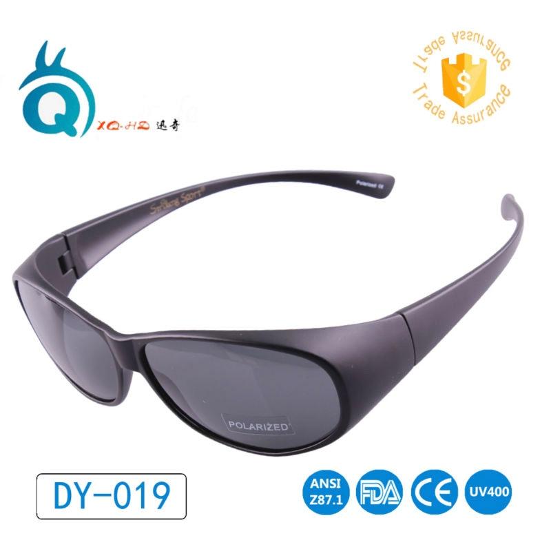 [해외]Polarized wraparound fit over eyeglass Flexible Tr90  Matte black Hiking Sunglasses/Polarized wraparound fit over eyeglass Flexible Tr90  Matte bl