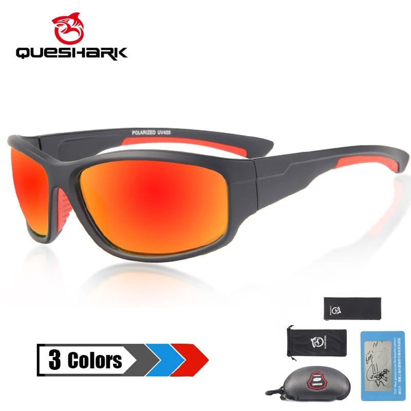 [해외]QUESHARK Polarized Sports Sunglasses for Men Women Baseball Running Cycling Fishing Driving Golf Softball Hiking Sun Glasses/QUESHARK Polarized Sp