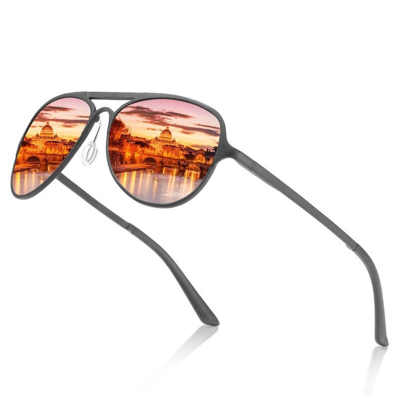 13d59b2db3  해외  FS YURI YUAN Men Fishing Polarized Sunglasses Brand Pilot Aluminum  Magnesium Frame