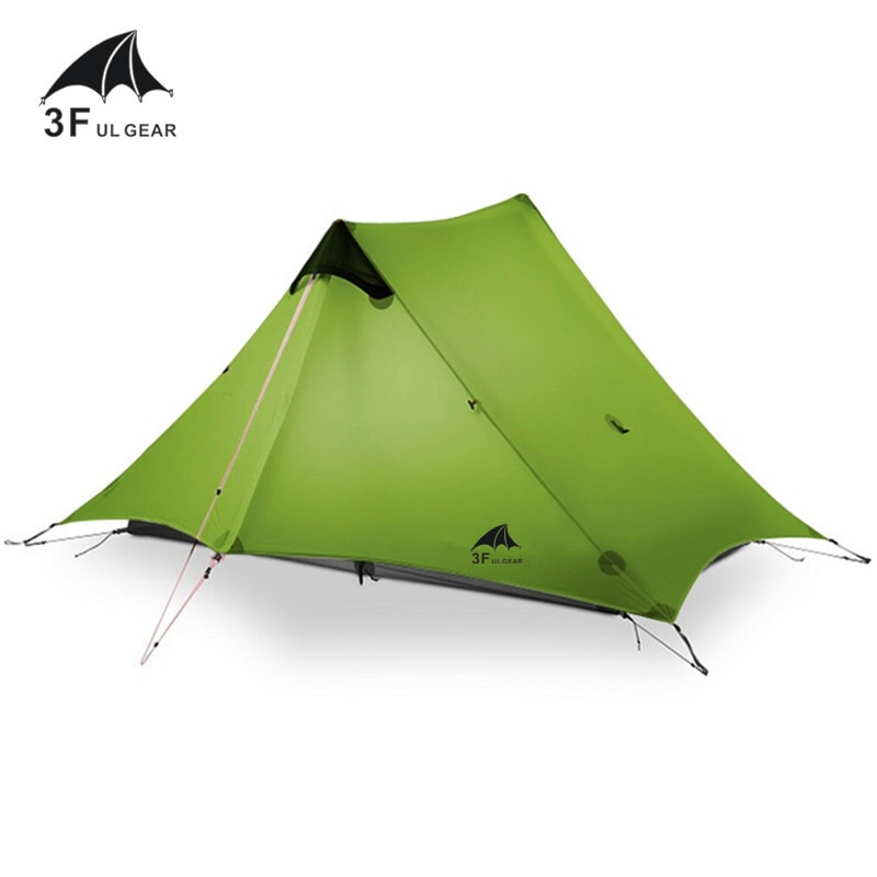 [해외]2018 LanShan 2 3F UL GEAR 2 Person Oudoor Ultralight Camping Tent 3 Season Professional 15D Silnylon Rodless Tent 4 Season/2018 LanShan 2 3F UL GE