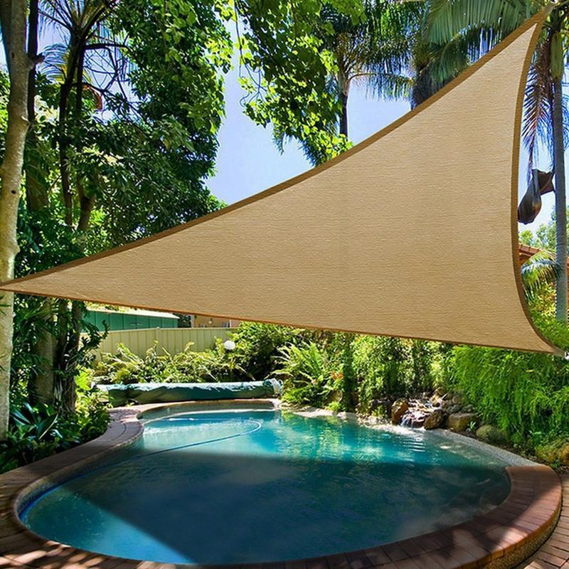 [해외]Outdoor Picnic Awning Camping Tent Triangle Sun Protection Canopy Garden Patio Pool Shade Sail Awning Foldable Ultralight Beach/Outdoor Picnic Awn