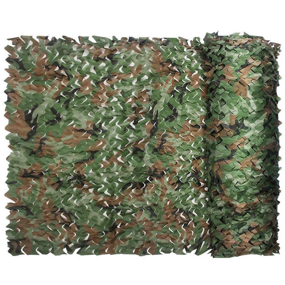 [해외]2x3m Military Army Camo Camping Hunting Woodland Camouflage Netting Sun Shelter /2x3m Military Army Camo Camping Hunting Woodland Camouflage Netti