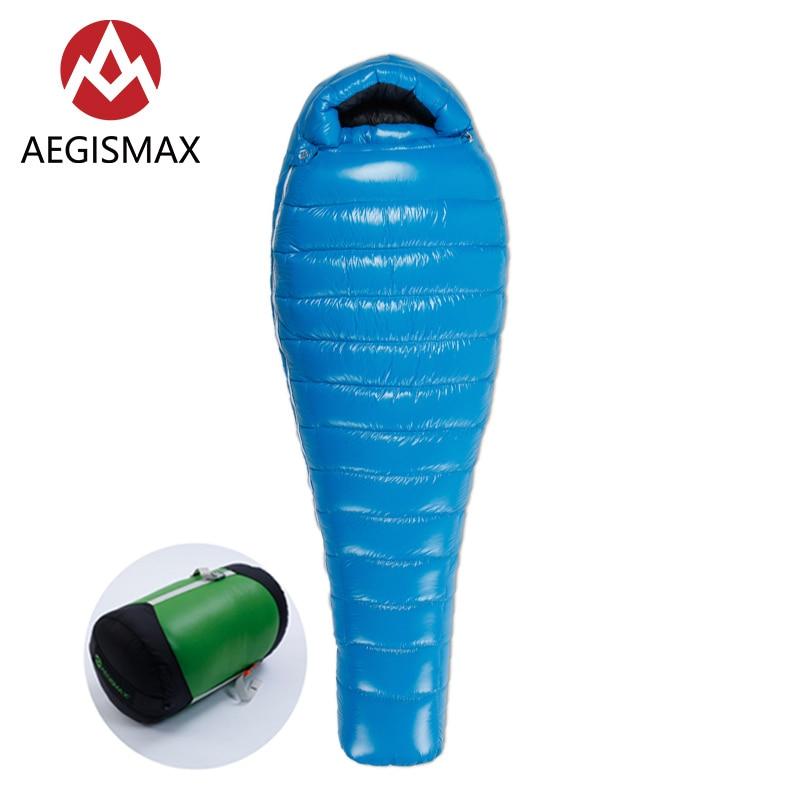 [해외]AEGISMAX G3 Ultralight Baffle Design  Nylon White Goose Down Mummy Outdoor Camping Sleeping BagCompression Sack 800FP/AEGISMAX G3 Ultralight Baffl