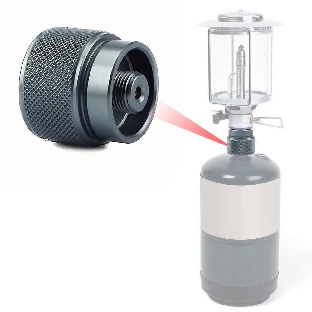 [해외]LPG Canister Head Adapter Canister Gas Convertor Shifter Refill Adapter Outdoor Camping Propane Valve Output Conversion Adapter/LPG Canister Head