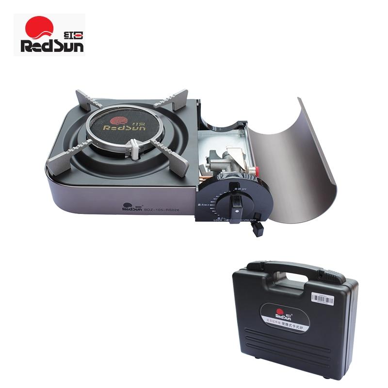 [해외]Red Sun Infrared Cartridge Portable Energy Saving Windproof Gas Stove Mini Genuine Household Stove Outdoor Picnic BBQ Stove/Red Sun Infrared Cartr