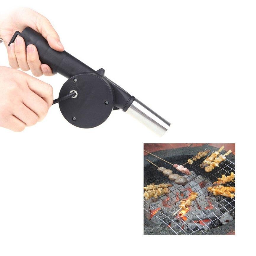 [해외]Outdoor BBQ Hand Crank Powered Fan Air Blower for Picnic Barbecue Fire Outdoor Camping Equipment/Outdoor BBQ Hand Crank Powered Fan Air Blower for