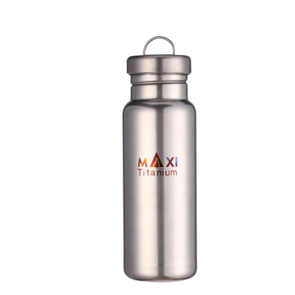 [해외]TOAKS Outdoor Ultralight Titanium Water Bottle Camping Travel Bicycle Drinkware Bottle 800ml /TOAKS Outdoor Ultralight Titanium Water Bottle Campi