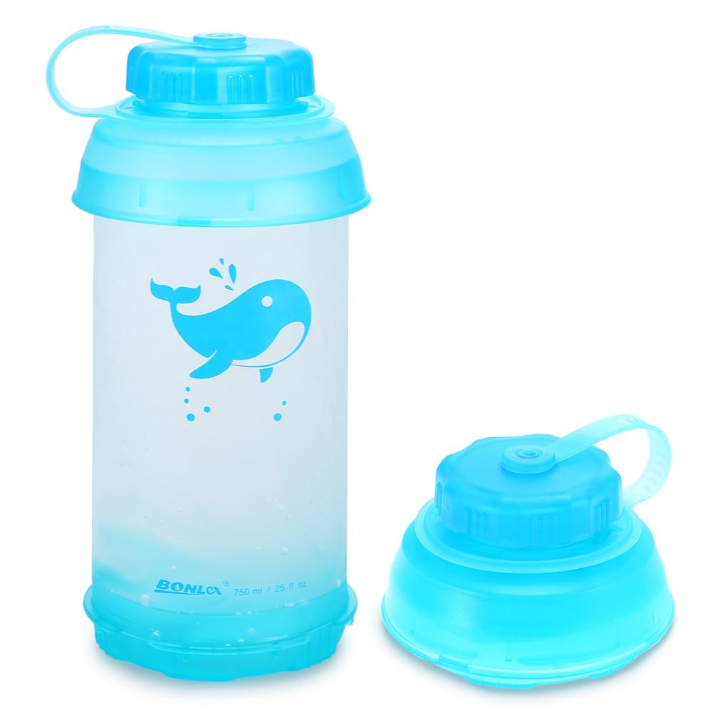 [해외]750ml Sport Water Bottle Collapsible Lightweight Portable Bike Bicycle Water Bottle Travel Bottle for Camping Cycling Hiking Gym/750ml Sport Water