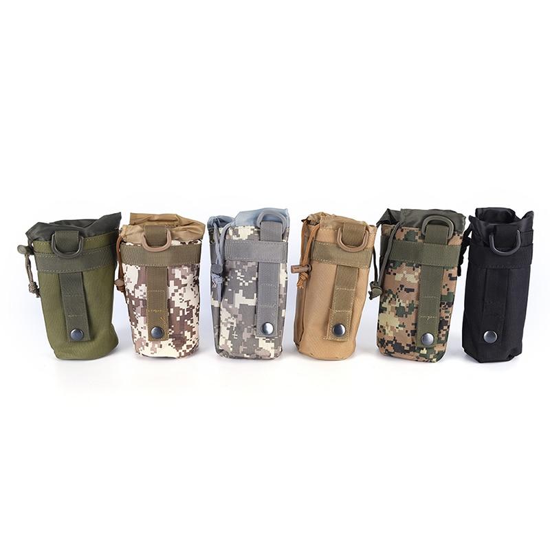 [해외]6 Colors Climbing Camping Hiking Bags Outdoors Durable Water Bottle Pouch Tactical Gear Kettle Waist Shoulder Bag for Military/6 Colors Climbing C