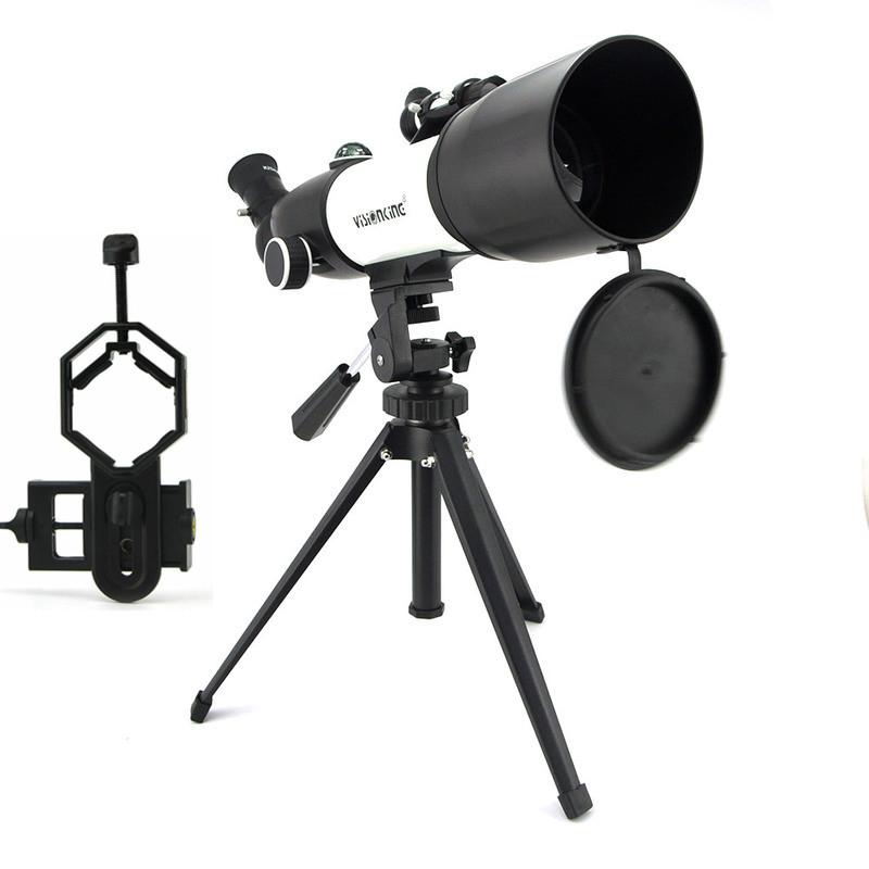[해외]Visionking 70350CF 70/350mm Refractor Astronomy Telescope Sky Moon Observation Astronomical MonocularPhone Camera Adapter /Visionking 70350CF 70/3