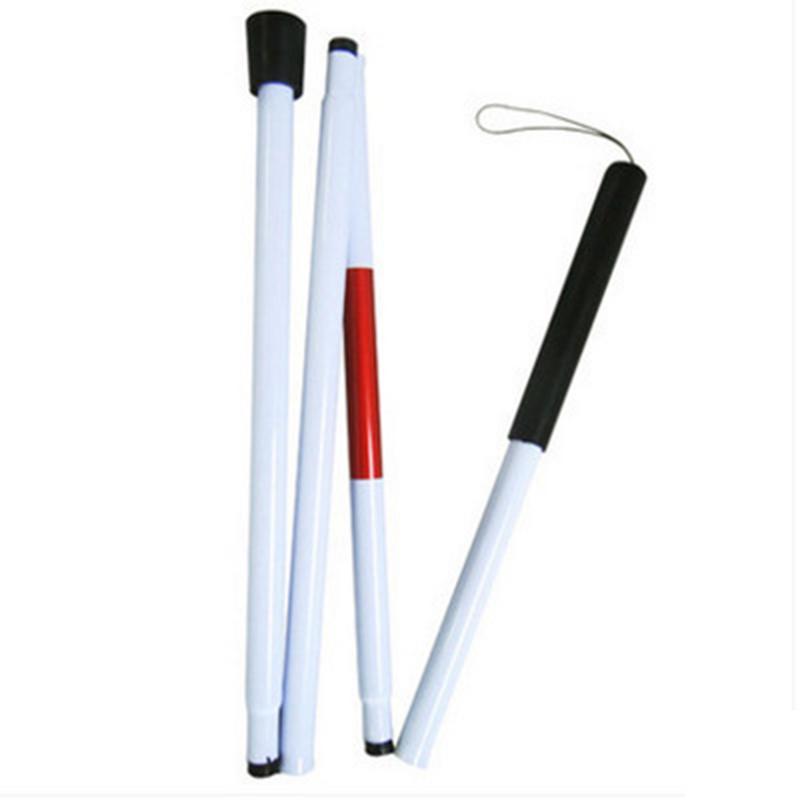 [해외]Folding Blind Guide stick Visually Impaired Crutch Cane Blind Walking Stick Walker Aluminium Easy Folding/Folding Blind Guide stick Visually Impai