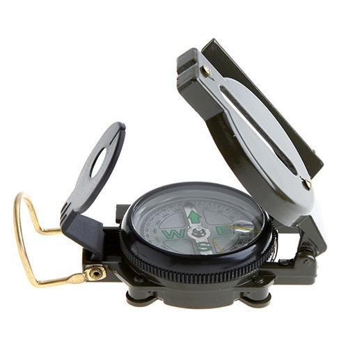 [해외]New Useful Military Outdoor Camping Hiking Army Style Survival Marching Metal Compass /New Useful Military Outdoor Camping Hiking Army Style Survi