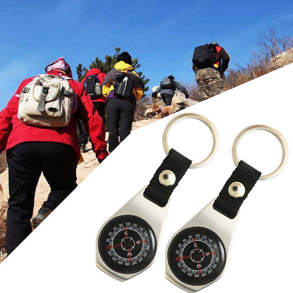 [해외]휴대용 야외 캠핑 하이킹 여행 금속 탐색 나침반 열쇠 고리/휴대용 야외 캠핑 하이킹 여행 금속 탐색 나침반 열쇠 고리