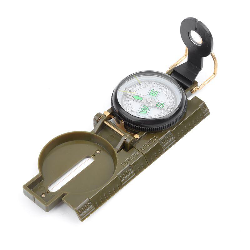 [해외]Portable Army Folding Lens Compass Military Multifunction Dashboard Outdoor Tool/Portable Army Folding Lens Compass Military Multifunction Dashboa